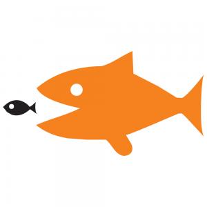 dier als beeldmerk vis staatsloterij
