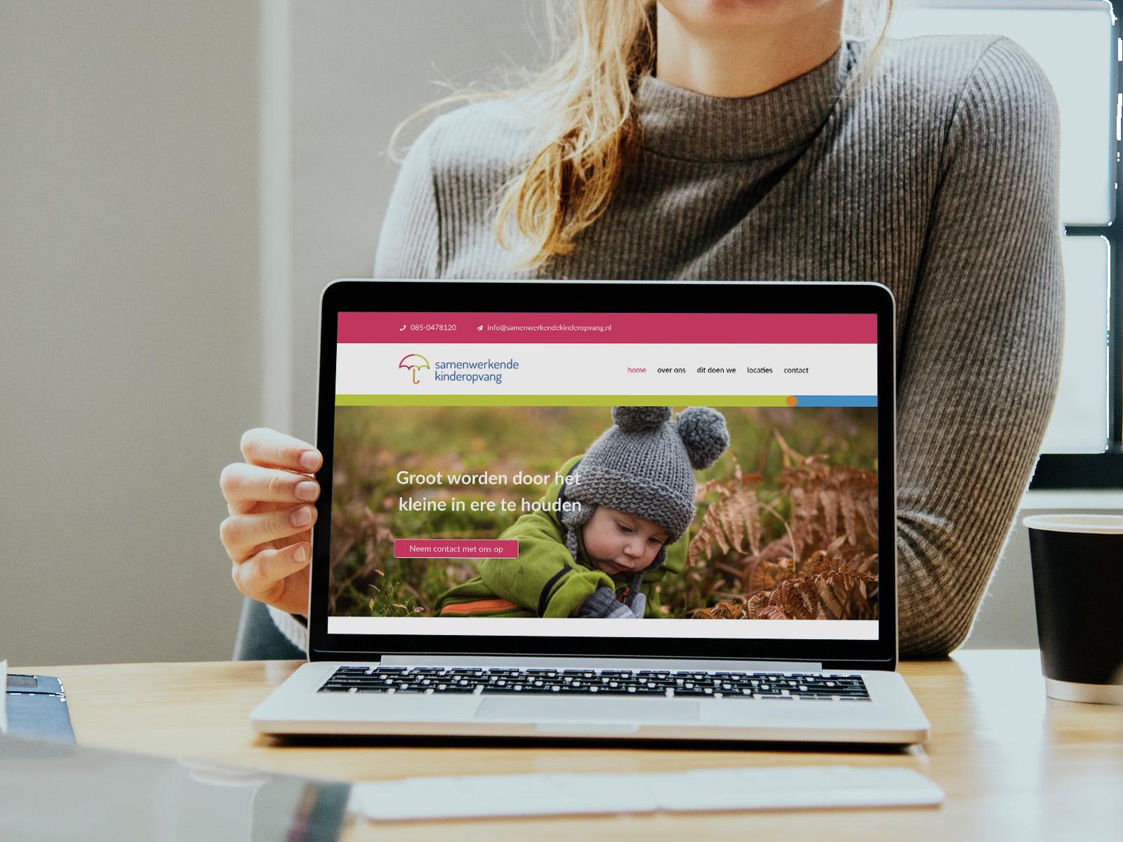 Website Samenwerkende Kinderopvang